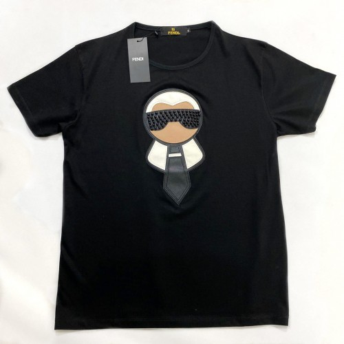 FℲ Karl Loves FENDI Tee Black
